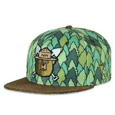 ecbd0150285 Puffy The Bear Trees Strapback