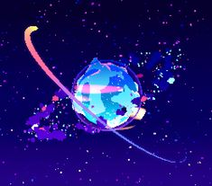 Michael Shillingburg 3d space pixel art video game