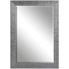 Tarek Silver Bevelled Mirror - Overstock™ Shopping - Great Deals on Mirrors