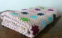 Huge granny square blanket on Etsy, £353.43