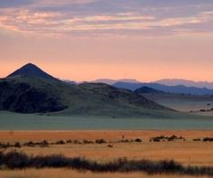 Pastel Colours In Namib-Naukluft National Park