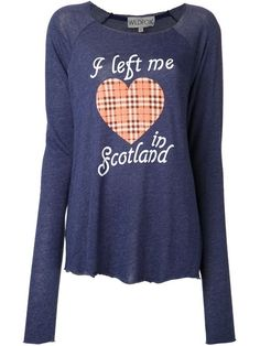 Shop Wildfox 'My Scottish Heart' T-shirt in American Rag from the world's best independent boutiques at farfetch.com. Over 1000 designers from 60 boutiques in one website.