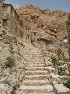 Mar Musa, Syria by Cendrine Marrouat on The Beautiful Country, Beautiful Places, Syria Country, Syrian Civil War, Sri Lanka, Arabian Beauty, Nepal, Iran, Dubai