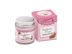 RASPBERRIES & ROSES HAND CREAM   A moisturising hand cream fragranced with a heavenly blend of aromatic English roses and sweet garden raspberries. Apply regularly for soft, sweetly scented hands and nails. Beautifully packaged in a glass jar. Even the box is adorable! 30g glass jar - boxed  £5.00 Available at www.simplypampergifts.co.uk