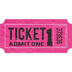 Ticket ❤ liked on Polyvore featuring fillers, tickets, text, pink fillers, pink, backgrounds, doodle, phrase, quotes and saying