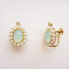 """Princess"" earrings #tocca #japan"