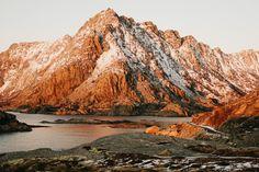 Landschaft der Lofoten