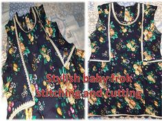 Baby Girl Frocks, Frocks For Girls, Bow Design, Girl House, Stylish Baby, Stitching, Bows, Youtube, Fashion