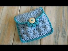 (crochet) How To - Crochet a Small Purse - Yarn Scrap Friday - YouTube