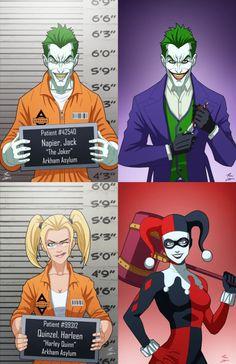 The Joker & Harley Quinn - Phil Cho