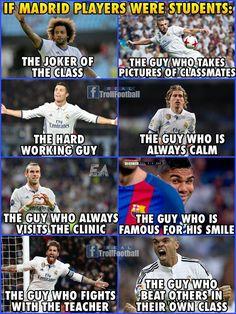 Madrid for life Madrid Football, Real Madrid Soccer, Football Is Life, Alabama Football, American Football, Football Players, College Football, Funny Football Memes, Sports Memes
