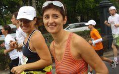 A blogger Németh Györgyi és Csapkovics Melinda - 2012 SPAR MARATON.  Beszámoló a SPAR MARATONRÓL.