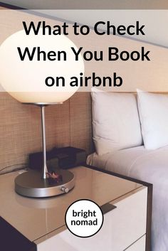 What to Check When You Book Accommodation on Airbnb - Bright Nomad http://brightnomad.net/book-accommodation-airbnb-checklist/ #travel