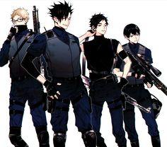 Ready for Battle Kuroo Haikyuu, Haikyuu Manga, Tsukishima Kei, Kuroo Tetsurou, Akaashi Keiji, Haikyuu Funny, Haikyuu Fanart, Manga Anime, Nishinoya