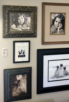 10 tips for creating a gallery wall, home decor, wall decor, 6 Don t use the same frame over and over Mix them up 7 Space all of your pictures about the same distance apart 8 Don t make yourself crazy with the spacing You might have to make more than one hole to get it right