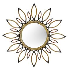 Aspire Home Accents Starburst Wall Mirror - 30 diam. in. | from hayneedle.com
