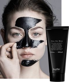 JorgObé The Original Black Peel Off Mask deep-cleanses the pores, reduces the skin's production of excess oil and prevents new blackheads. Soothing plant extracts help the skin regain its natural moisture balance, leaving it soft and with markedly reduced pores.