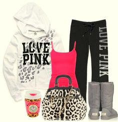 Rosa, branco, preto, zinzento, leopardo...Perfeitooooo :)