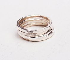 Stacking Rings. Quality meets style, a must-have ring for any occasion. Whether you like to stack rings or wear a simple ring, this is for you. Combine any number of extra thin stack rings however you like $13