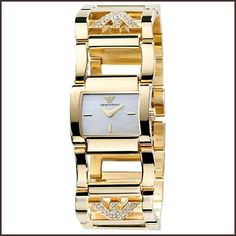 The most well know trademark of elegance and designs superiority is Armani women's watches. Amazing Watches, Cool Watches, Rolex Watches, Emporio Armani Ladies Watches, Watches For Men Unique, Mens Watch Brands, Armani Women, Watch Sale, Jewelry Branding