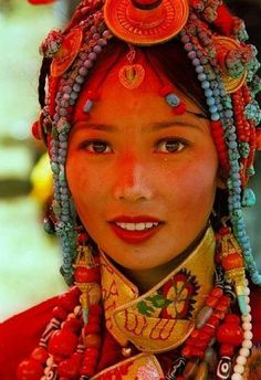 Люди Тибета