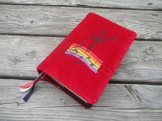 Weiteres - Gotteslob Hülle rot Melodie - ein Designerstück von schnickelundschnackel bei DaWanda