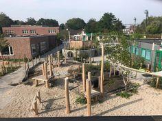 Foto's Primary School, Playground, Pergola, Outdoor Structures, Landscape, Seeds, Children Playground, Upper Elementary, Scenery