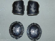 Sterling Silver Scrap Siam Enamel Wearable 925 Misc Vintage Parts Links 14 26g | eBay