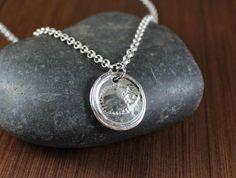 Hedgegoh  Artisan Handcrafted  pendant necklace by KLFStudio
