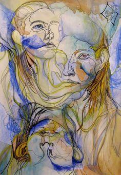 Contour Lines for my Face by SabrielDragonkin.deviantart.com on @deviantART