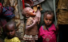 hungry children - Africa