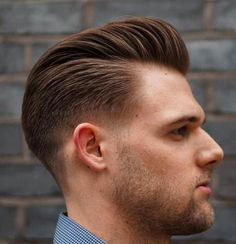 Line Up Pompadour Hairstyle