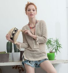 crochet coverup or tunic