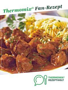 Ungarisches Gulasch von Brutzelhexe. Ein Thermomix ® Rezept aus der Kategorie Hauptgerichte mit Fleisch auf www.rezeptwelt.de, der Thermomix ® Community.