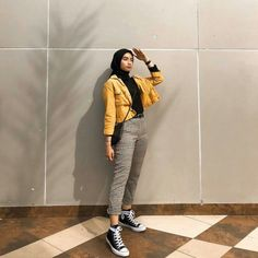 38 Trendy ideas for style hijab casual pantai 38 Trendy ideas for style hijab Modern Hijab Fashion, Street Hijab Fashion, Hijab Fashion Inspiration, Muslim Fashion, Fashion Outfits, Fashion Clothes, Fashion Ideas, Casual Hijab Outfit, Ootd Hijab