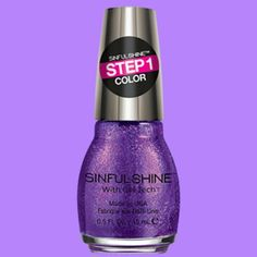 """Gel polish lovers you're going to love @sinfulcolorsNP  's """"Mystique"""" purple gel polish from their Sinful Shine Collection  #PolishSunday  #SinfulColors #SinfulColorsNailPolish #SinfulShineCollection #Mystique #purplenailpolish #purplenails #purple #nailpolish #nailtech #nailtechnician #manipedi #manicure #pedicure #nailart #nails #naildesign #nail #polish #nailsalon #NSE #NailSoleEntity"""