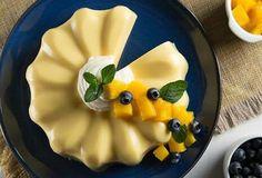 Una deliciosa #GelatinaDeMango es perfecta para toda ocasión, te damos la #receta para que la disfrutes con tus seres queridos.