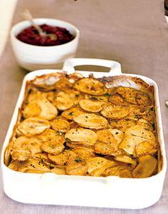 Yukon Gold and Sweet Potato Gratin Recipe  | Epicurious.com