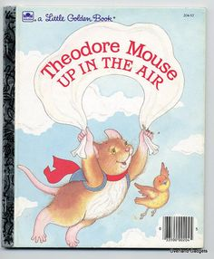 Book Children Little Golden Theodore Mouse Up by overlandgadgets, $1.99