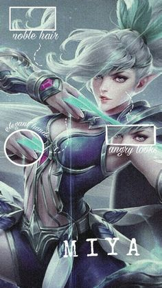 Miya Mobile Legends, Ban Ban, Moba Legends, Alucard Mobile Legends, Bts Wallpaper Lyrics, Mobile Legend Wallpaper, Naruto Shippuden, Female Characters, Aesthetic Wallpapers