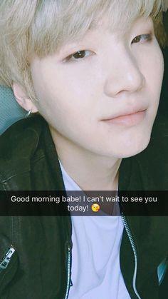 bts, snapchat, and yoongi image
