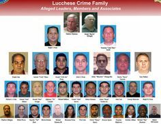 """The Lucchese crime family is one of five """"Mafia Families"""" that still plagues New York City. They got their start in the with the Morello gang out of East Harlem & the Bronx. This board looks at their history & current news about them. Real Gangster, Mafia Gangster, Gangster Party, Wife Movies, Criminal Profiling, Mafia Crime, Mob Wives, Mafia Families, Italy"""