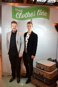 Luke & Ryan - one of our style ambassador Clothes Show winners