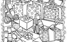 Coloring Pages For Adults Christmas  Ideas