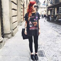 WEBSTA @ luanna90 - One more of this casual look to walk around Florence tap for tags