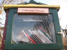 "Story about Madison's Little Free Libraries <3  ""We're now in 34 states and 17 countries,"" says Brooks, an outreach manager with UW-Madison's Division of Continuing Studies who, with a handful of other volunteers, runs Little Free Library."