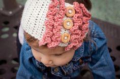 Crochet Baby Ear Warmer by TheSnuggleBee on Etsy