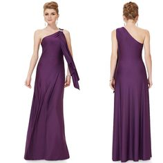 Find More Dresses Information about Free Shipping Purple/Red/Blue One Shoulder Long Vestidos De Fiesta Elegant Evening Party Gown Sexy Formal Dresses 52123,High Quality dresses princess,China gowns maternity Suppliers, Cheap gown set from Queen's Luck on Aliexpress.com