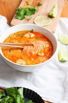 20-Minuten Thai Chicken Soup6