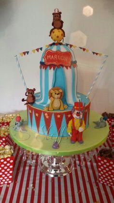 Zirkustorte  Circus cake Birthday cake